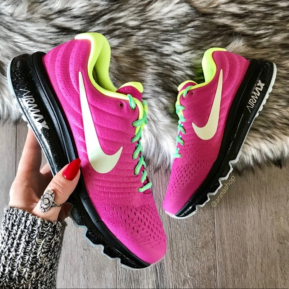 info for c5310 7054b NWT🦄Nike ID Air Max Custom Pink On Black